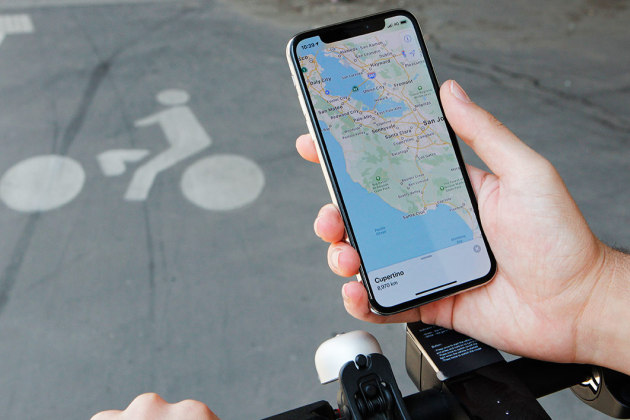 À San Francisco, le nouvel Apple Maps est déjà disponible.