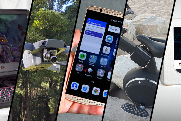 DJI Mavic Pro, MSI Titan, ZTE Axon7... le top 5 des tests