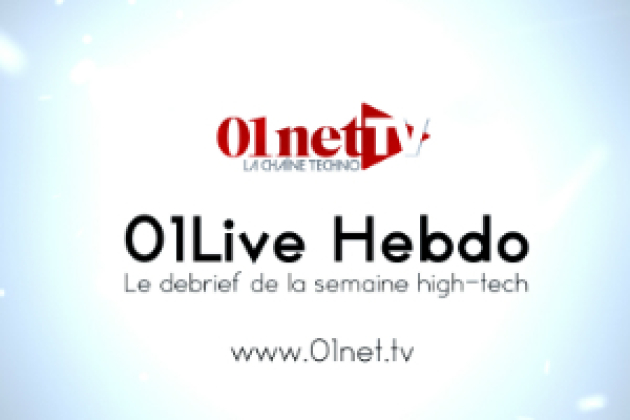 01LIVE HEBDO #30 : hacking, messageries anonymes, smartphone les + autonomes (vidéo replay)
