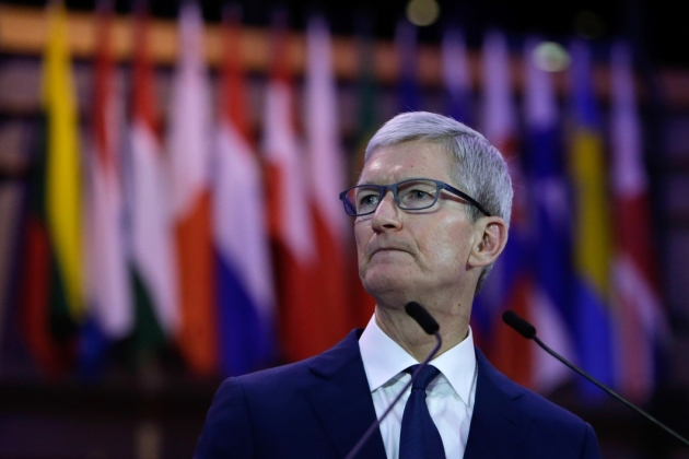 Tim Cook était invité de la Privacy Conference à Bruxelles ce 24 octobre.