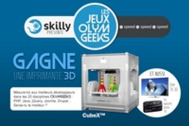 Skilly déclare ouverts les premiers jeux Olymgeeks