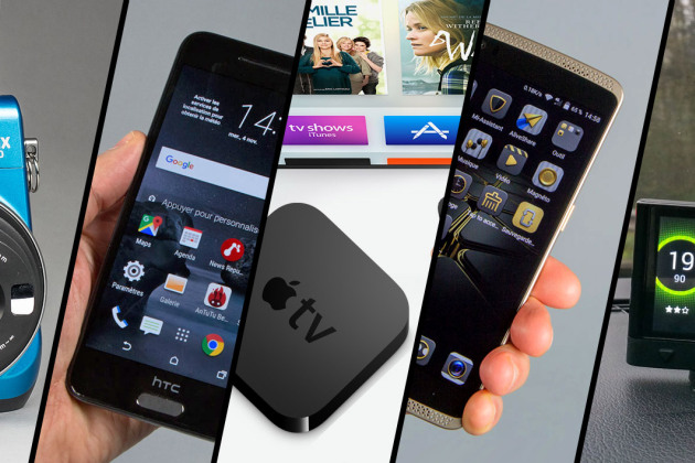 Apple TV, HTC One A9, ZTE Axon Elite… le top 5 des tests
