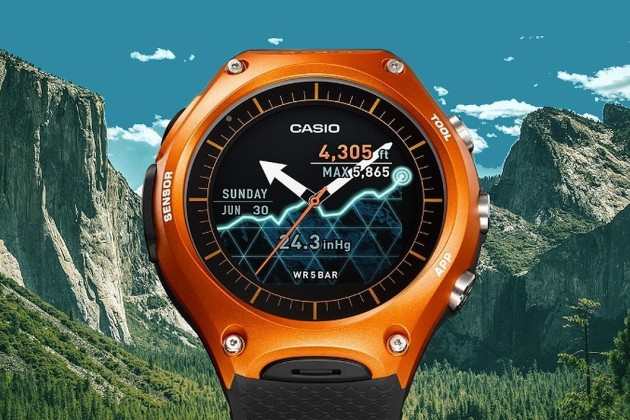 montre connectee casio