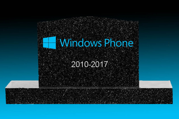 Windows Phone est (officiellement) mort