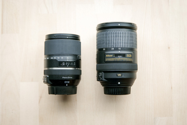 Duel de super-zooms : Tamron 16-300 mm contre Nikon 18-300 mm