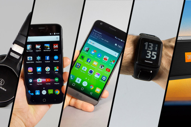 LG G5, TomTom Spark, Vernee Thor... le Top 5 des tests