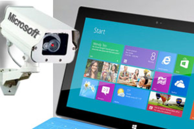 Windows 8 : Microsoft implante un mouchard !