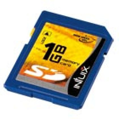 Memory Card SD 60x 1 Go, d'Intuix : une carte SD turbo