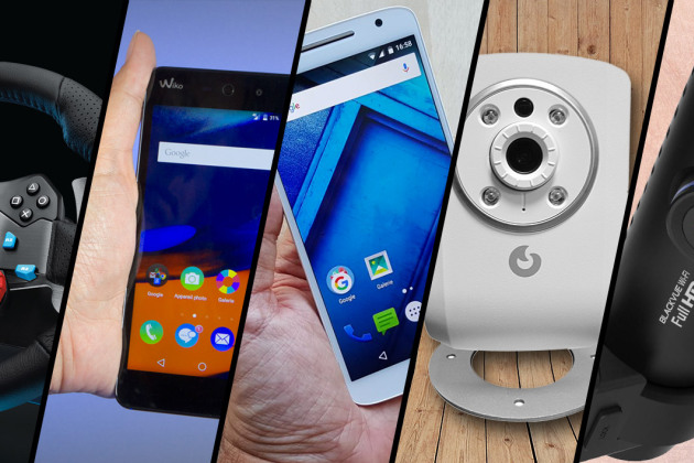 Moto X Play, Wiko Rainbow Up 4G, MyFox Security Plus… le top 5 des tests