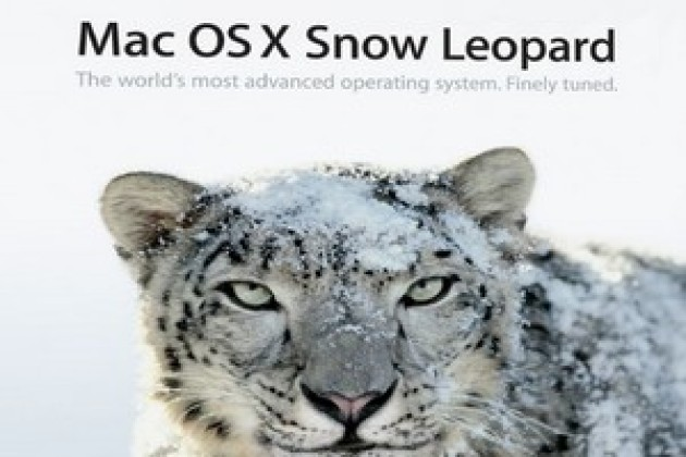 Apple met à jour Mac OS X Snow Leopard