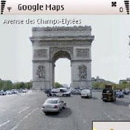 Les photos de rue de Google atterrissent sur Symbian et Windows Mobile