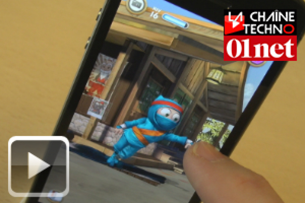 Phone Apps #28 : 6Snap, Shots of Me, Clumsy Ninja, Hunger Games et eDJing