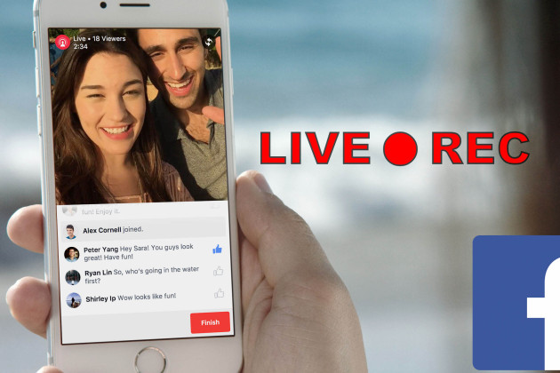Facebook lance « Live video », la fonction de diffusion en direct qui va concurrencer Periscope