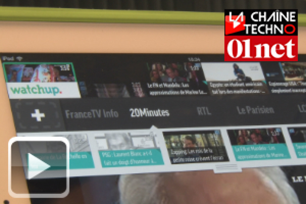 Watchup, l'application iPad qui réinvente le JT