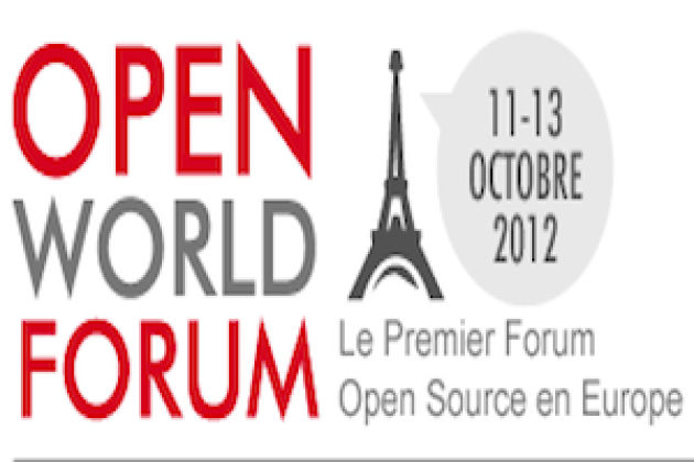 Open World Forum 2012 sera marqué par l'open data des entreprises