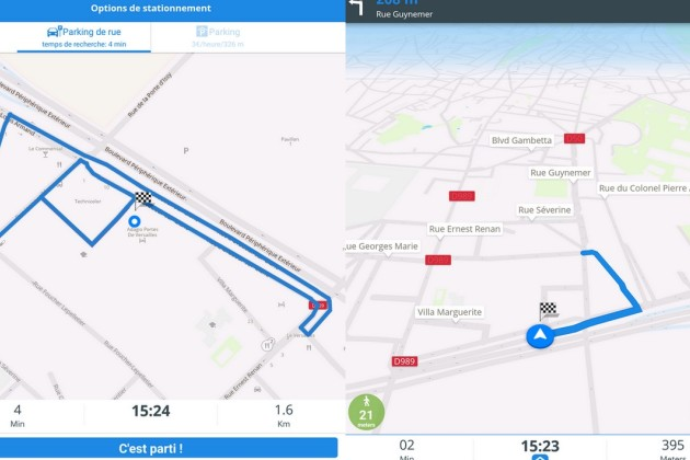 5 applications gratuites sur Android et iPhone pour trouver une place de parking en ville<br>