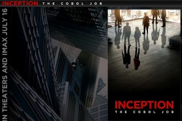 La « prequel » du film Inception en BD sur Yahoo!
