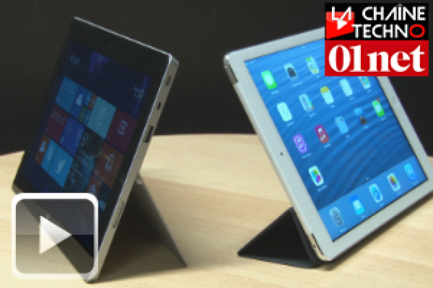 [Test] iPad Air contre Surface 2 : le match !