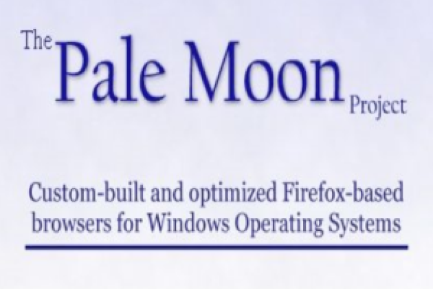 Pale Moon, un clone de Firefox 4 dopé pour Windows