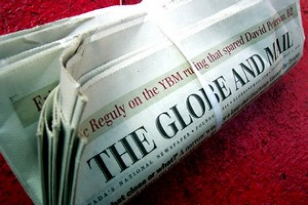 Canada : le site Web du journal The Globe and Mail devient payant