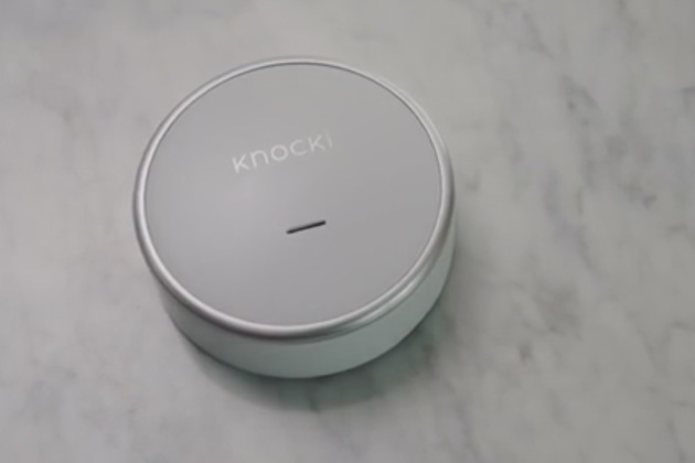 Knocki transforme n'importe quelle surface en commande à distance