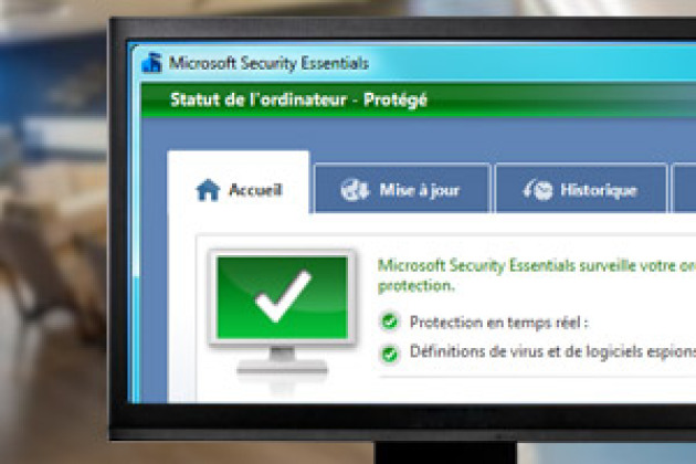 <b>Microsoft</b> <b>Security</b> <b>Essentials</b> 4.2.223 <b>Vista</b>