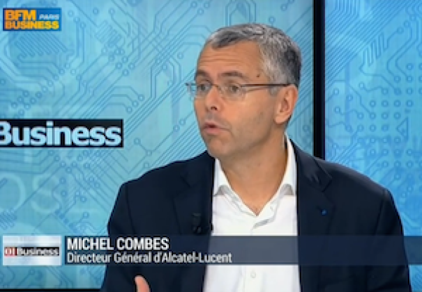 [Vidéo 01 Replay] Interview de Michel Combes sur le retour au premier plan d'Alcatel-Lucent