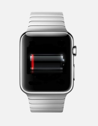 Autonomie de l'Apple Watch : il n'y aura pas de miracle