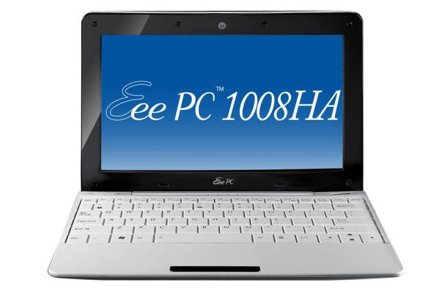 Asus Eee PC 1008HA Seashell