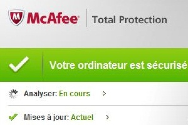 McAfee Total Protection 2010 : premier test