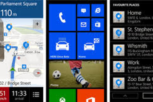 L'application de cartographie de Nokia est déjà disponible sous Windows Phone