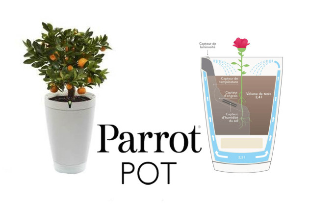 ifa 2016 parrot pot le pot de fleur connect qui prend soin de votre plante. Black Bedroom Furniture Sets. Home Design Ideas