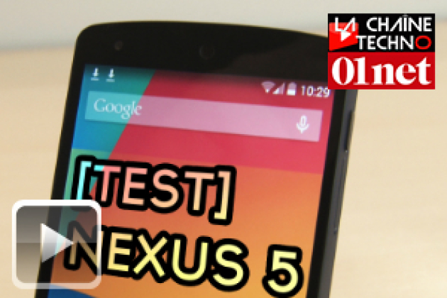 Test du Nexus 5 : la bonne affaire de Google