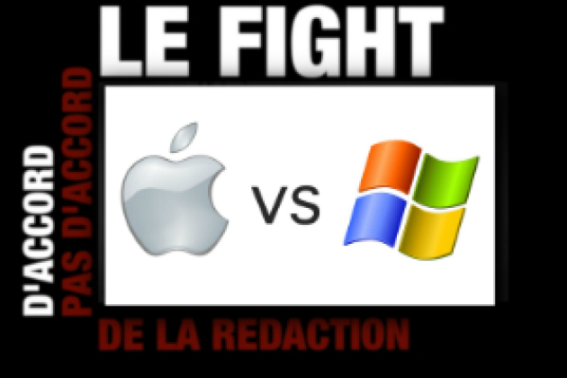 Mac OS contre Windows : le fight ! (vidéo)