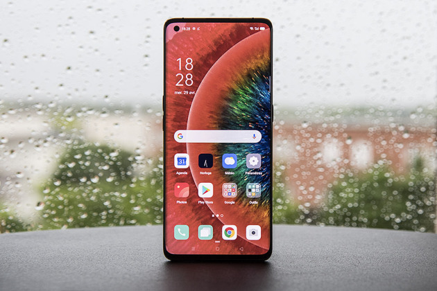Le Oppo Find X2 Pro.