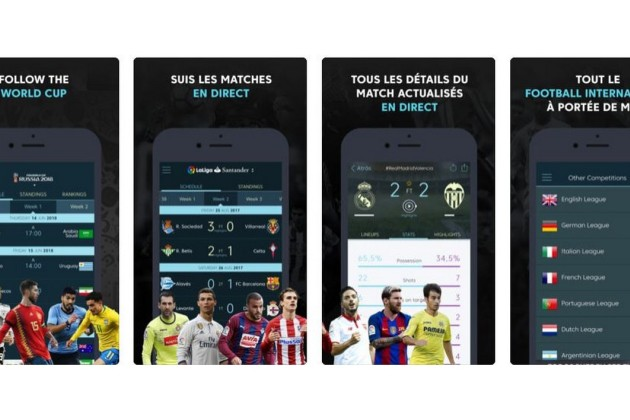 L'application mobile de LaLiga.