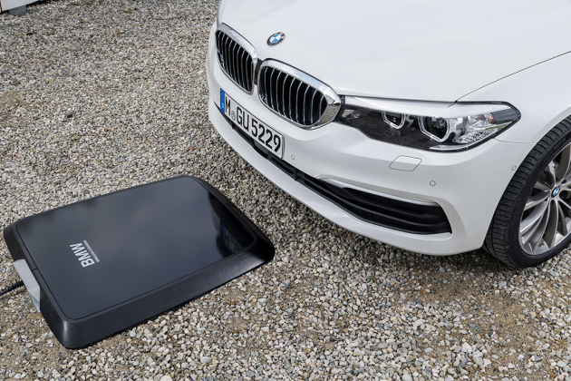 Le système de charge par induction sera proposé en option sur la 530e iPerformance