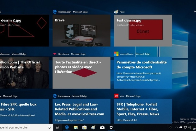 Windows 10 : comment désactiver la fonction Chronologie