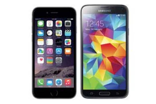 Apple iPhone 6 vs Samsung Galaxy S5 : quel est le meilleur ?