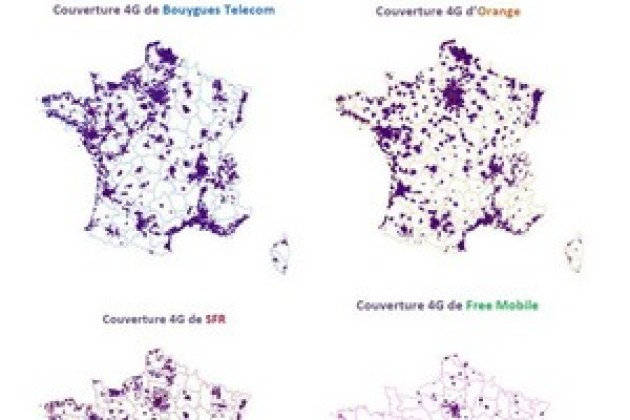 Orange et Bouygues champions de la 4G