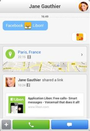 Orange intègre son application mobile Libon avec Facebook