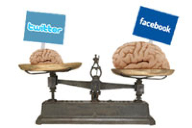 Facebook rendrait « plus intelligent », Twitter « plus bête »