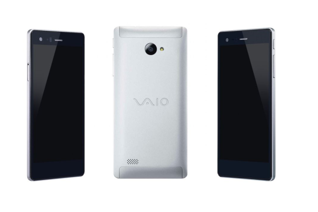 Le VAIO Phone Biz sous Windows 10 Mobile.