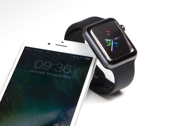 L'iPhone 7 et l'Apple Watch Series 2