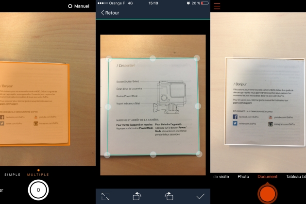 5 applications gratuites pour numériser des documents sur iPhone, Android et Windows Phone