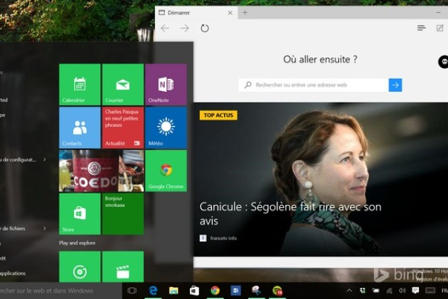 Une nouvelle build arrive à un mois de la version finale de Windows 10.