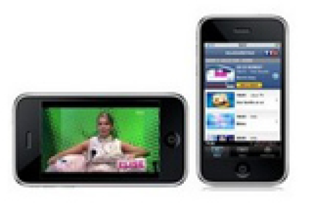 TF1 lance un player pour l'iPhone (MAJ)