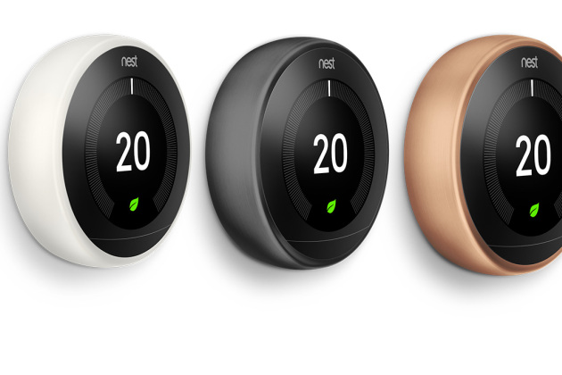 le thermostat connect de nest est d sormais compatible avec le chauffage lectrique. Black Bedroom Furniture Sets. Home Design Ideas