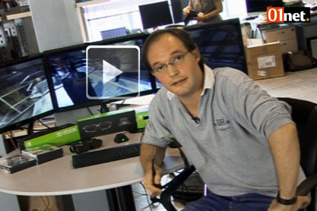 Coulisses du 01Lab : Nvidia 3D Vision Surround