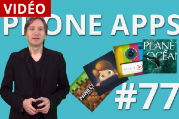Phone Apps #77 : SantApp, Snapschool, Planet Ocean, Minecraft PE (vidéo)